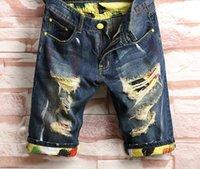 2021 verão homens jeans hip hop estilista curto top qualidade afligida mens calções calças rasgadas motociclista jean fit motocicleta denim 28-40