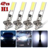 Car Headlights 4 Pcs H1 LED Headlight High Low Beam Light SMD Bulbs Vehicle Lamp 6000K 12V 100W Work Waterproof Accessories In Stock