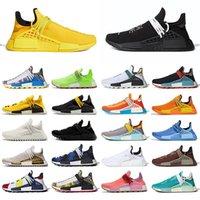 Человеческая гонка Pharrell Williams Hu Exect Exe Exece высочайшее качество 2021 мужская Женская обувь BBC Races Runners кроссовки кроссовки Размер 36-47