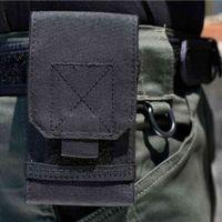 Sport Outdoor Phone Camouflage Bag Holder Tactical Army Waist Belt Case Waterproof Nylon Sport Hunting Camo Ba