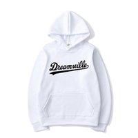 Dreamville Mektup Baskı Hoodies J Cole Hip Hop Kapüşonlu Kazak Erkekler Kadınlar Moda Hoodie Spor Rahat Kazak Coat Unisex Tops