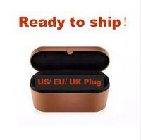 الاتحاد الأوروبي / المملكة المتحدة / الولايات المتحدة / الاتحاد الأفريقي 8heads الشعر بكرة الشعر مع هدية مربع جهاز التصميم متعدد الوظائف التلقائي الشوك الحديد
