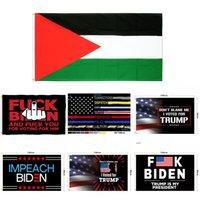 81 desenhos fábrica direta 3x5 Ft 90 * 150 cm Salvar América novamente Trump Flag para 2024 Presidente EUA USA