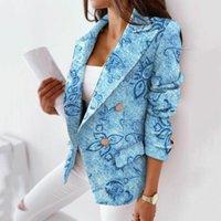 Women's Suits & Blazers Lady Blazer Long Sleeve Anti-fade Polyester Women Lapel Loose Suit Jacket For Wedding