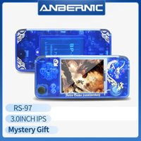 Rs-97 Limited Edition Retro Game Plus Anniversary Video 3000 Games Omron 32G TF Rs97 Family Gift Consola Ps1 IPS Portable Players