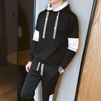 Tracksuits Men's Tracksuits Autumn Hooded Sweater Suit Sportswear Fashionable Coat