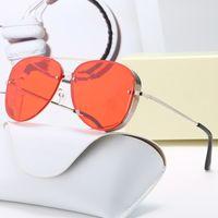 デザイナーサングラスブランドの眼鏡屋外色合い竹の形PCフレームクラシックな女性の豪華な女性