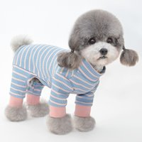 Dog Apparel Autumn and winter pet dogs four-legged clothes puppy Teddy Pomeranian cat clothing