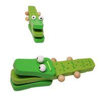 bébé polissage snake Caterpillar couleur créatif bois jeu petit développement PRESCHOOL Education Puissance jouet cadeau dessin animé soundboard bande de crocodile Twist Worm