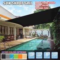 Tents And Shelters 420D Waterproof Sun Shelter Sunshade Protection Outdoor Canopy Garden Shade Sail Awning Camping Picnic Tent