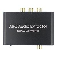 Connecteurs de câbles d'écouteurs 3,5 mm de fibres optiques 3,5 mm de l'audio Convertisseur DAC