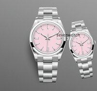 36mm 40mm orologio indispensabile di lusso 8 colori Orologio de luxe l'uomo Automatic Machinery Orologi in acciaio inox Super orologi da polso da uomo Donne come Reloj Full Acciaio