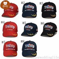 8 styles Newest 2024 Trump Baseball Cap USA Presidential Election TRMUP same style Hat Ambroidered Ponytail Ball Cap DHL fast shipping gr