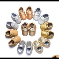 Walkers Baby, Kids & Maternity Drop Delivery 2021 Wholesale Tassels 19-Color Pu Leather Baby Moasin Born Soft Infants Crib Shoes Sneakers Fir