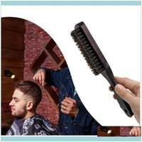 Brushes Care & Productswood Handle Boar Bristle Cleaning Hairdressing Beard Brush Anti Static Barber Hair Styling Comb Shaving Tools Jllglw