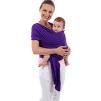أزياء مريحة الرضع حبال لينة التفاف الطبيعي الطفل الناقل حقيبة الظهر 0-3 سنوات تنفس القطن هيبسيت التمريض غطاء