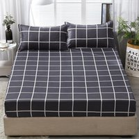 Bedding Sets 2 3pcs Fitted Sheet Twin Queen King Size Set With Pillowcase No Bag