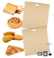 Nuevas herramientas para hornear Oaster Bolsas para sándwiches de queso a la parrilla Hecho fácil reutilizable Non-Stick horneado Bread EWD5806