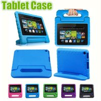 Kids Children Handle Stand EVA Foam Soft Shockproof Tablet Case Silicone Case For iPad Mini 2 3 4 Ipad Air ipad pro Samsung kindfire
