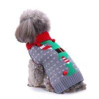 15 Stili Pet Dog Santa Costumes Abito di Natale Cappotti Funny Party Decorazione vacanze Vestiti per Felpe con cappuccio Pet RRA7499