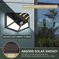 Solar Lamps 144 LED Light Outdoor Garland Lamp Powered Sunlight Waterproof PIR Motion Sensor For Garden Decoration