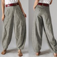 Casual Baggy Harem Pants Women' s Autumn Trousers ZANZEA...