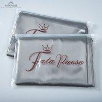 2 PCS Best Quality Royal Silky Satin Skin Care Pillowcase Hair Anti Pillow Case Queen King Standard Size Facial Sleep Lines