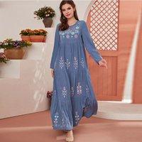 Ethnic Clothing 2021 Ramadan Robe Longue Abaya Dubai Turkey Islam Muslim Fashion Dress Kaftan Turkish Arabic African Dresses For Women Vesti