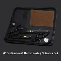 """Hair Scissors JP440C 6"""" 17cm Professional Hairdressing Stainless Steel Cutting Stylist Thinning Shears"""