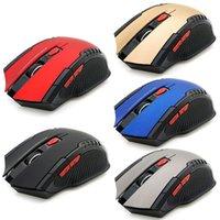 Atacado Bluetooth Wireless Gaming Mice 2400dpi 6 botões 2.4GHz mini mini presente de mouse óptico para pc laptop