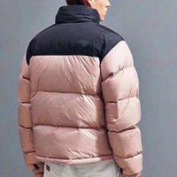 2021 Newest Winter Mens Down Jacket Fashion Tendent Jacket Chaqueta acolchada de algodón Pareja gruesa cálida hombres y mujeres cortos