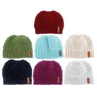 Outdoor Hats Beanie Hat Tail Soft Stretch Cable Knit Messy High Bun Ponytail Earmuffs