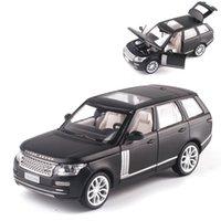 134 RANGE ROVER OFF-Road Alloy ModellCollection of Die-Cast Ljud och Light Pull Back Model Car