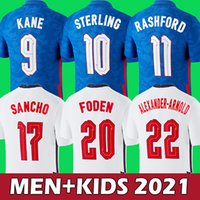 2021 2022 Kane Sancho إنجلترا الاسترليني لكرة القدم الفانيلة راشفورد فودن ديل ليندس هندرسون قمصان كرة القدم 21 22 الرجال أطقم موحدة