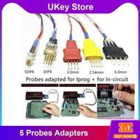 Adattatori di sonda per cavi in-circuito ECU funziona IProg 5 Sonde senza saldatura Xprog IProg + Strumenti diagnostici