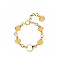 Popular fashion High version Gold bracelets for lady Design Women Party Wedding Jewelry With for Bride with box