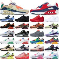 air max 90 airmax 90s running shoes 90 chaussures de course des chaussures 90s hommes femmes baskets à plateforme hommes formateurs de sport en plein air