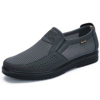shoe 2021-plus male men will see mesh style loafer creepers men's apartments casual high-end very comfortable shoes ATSG
