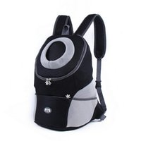 Pets Carrier Backpack Dog Cat Outdoor Travel Handbag Portable Nylon Mesh Puppy Dogs Breathable Tote Pouch Bag Car Seat Covers