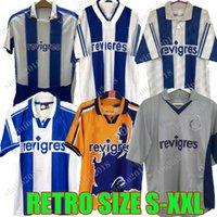 Ретро 2003-04 Порту UCL футбол для футбола 94 95 96 97 98 99 00 01 деко Маккарти Винтажный футбол CamiSetas Futbol CamiSas Рубашки классический комплект