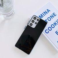 Telefono cellulare TPU Cases Pure Color Specchio Superficie per iPhone 12 11 Pro Promax X XS Max 7 8 Plus Samsung S10 S20 Nota10 Nota20