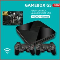 Powkiddy Game Box G5 Nostalgic Host S905L WiFi 4K HD Super Console x 50+ Emulatore 40000+ Giochi Retro TV Video Player per PS1 / N64 / DC