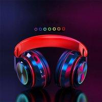 Auriculares inalámbricos Strong Bass Headband Auriculares Cancelación de ruido Auriculares Bluetooth Auriculares Auriculares de baja demora para juegos 5 colores