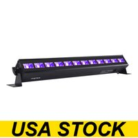 USA Stock12 LED Black Light, 36W UVA 395-400NM Blacklight Glow in The Dark Party Supplies Fixtures for Christmas Birthday Wedding Stage Lighting