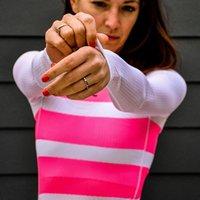 Bisiklet Jersey Uzun Kollu Baz Katman Kadın Dağ Bisikleti Giyim Hızlı Kuru Yarış MTB Bisiklet Üniforma Nefes Sikin Ceketler