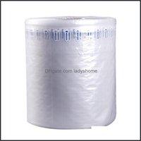 Packing Office School Business & Industrialpacking Bags Air Column Bag 15Cm-95Cm Coil Bubble Buffer Absorption Anti-Fall Material Logistics