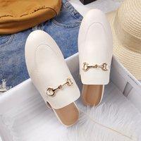 2021 In Primavera Designer AutopolationHoes Donna Muli Piattaforma Pantofole Sandalias de Verano Para Mujer Zapatos de Mujer Calzado Alta qualità