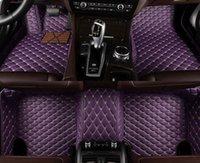 Tapis de plancher de voiture sur mesure pour Mitsubishi Tous les modèles Asx Lancer Sport EX Zinger Outlander Grandi