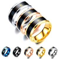 Stainless Steel Band Ring Smart Sensor Body Intelligent Display Real-time Temperature Test Finger Rings for Women Men #6-#13