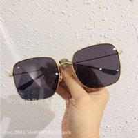 D Luoqi europeo maschio fang xian shi tiro in stile americano Stem Street Song Qian the sunglasses e occhiali da sole femmina moda sottile occhiali da sole DBJGA